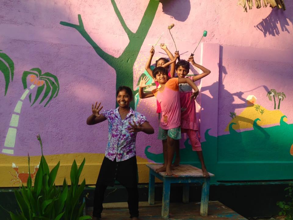 COMMUNITY ART: AVANTHI DEVI, SRI LANKA
