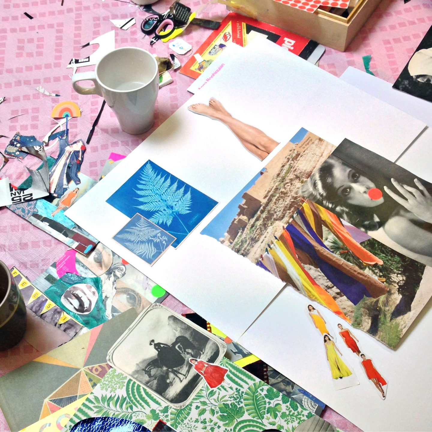 WORKSHOPS COLLAGE / MIXED MEDIA